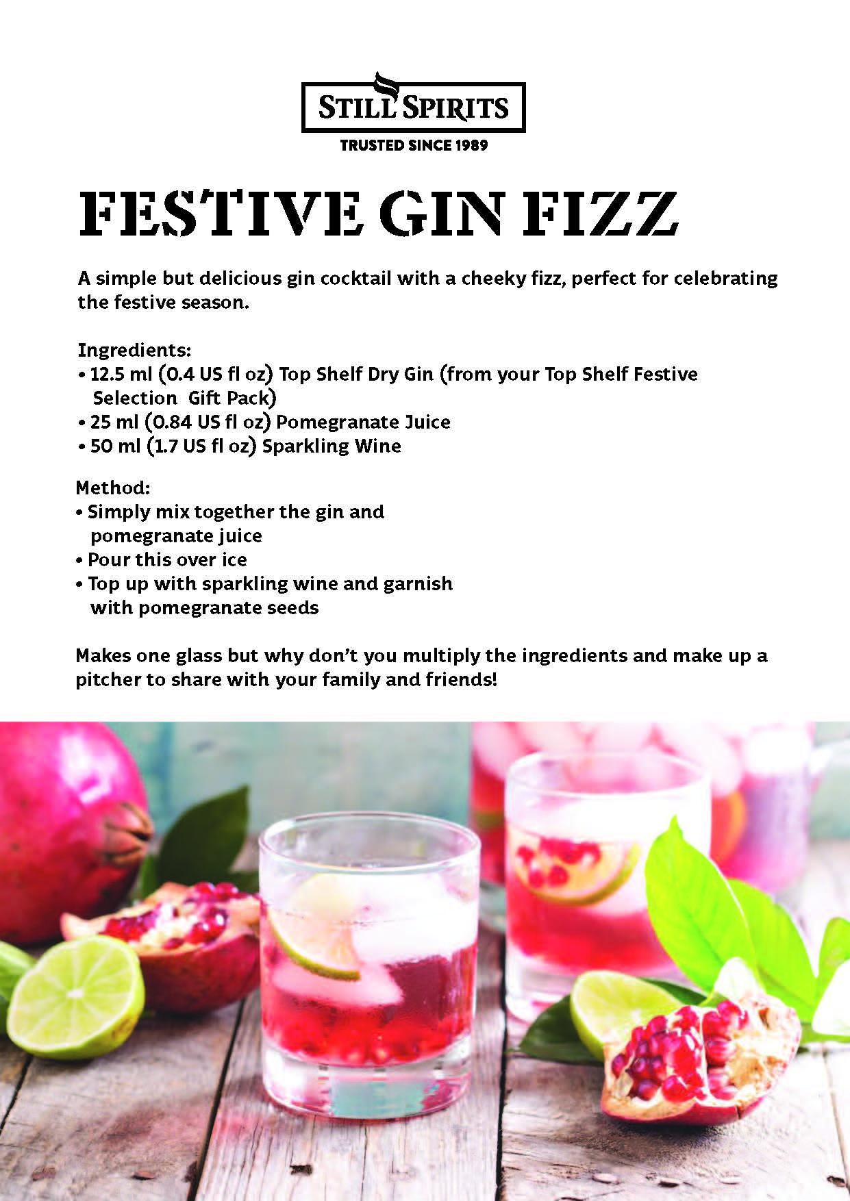 Festive Gin Fizz