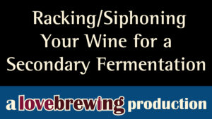 Racking-Siphoning-Your-Wine