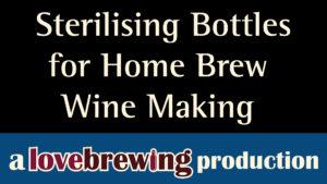 Sterilising-Bottles-for-Home-Brew-Wine-Making