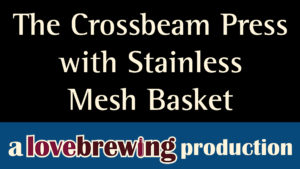 TheCrossbeamPressWithStainlessMeshBasket