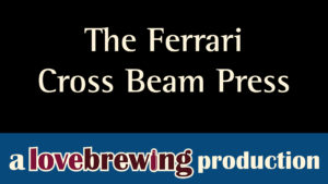 the ferrari cross beam press