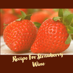 strawberry-wine-recipe