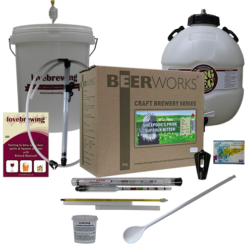 Beerworks Luxury Beer Making Starter Bundle