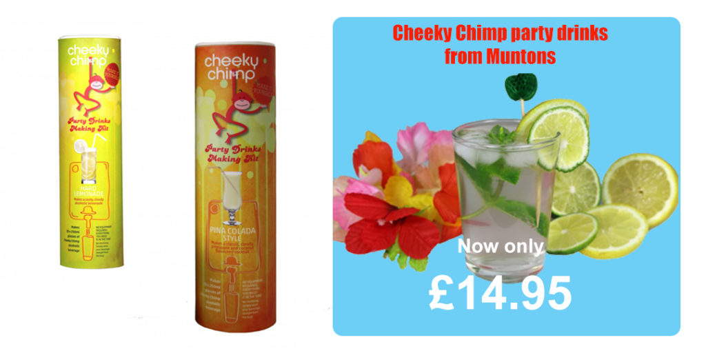 Muntons - Cheeky Chimp Cocktails